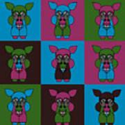 9 Zoo-Veterinarians Art Print