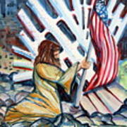 911 Cries For Jesus Art Print