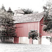 A Barn In The City Art Print