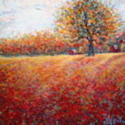 A Beautiful Autumn Day Art Print