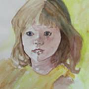A Beautiful Child Art Print