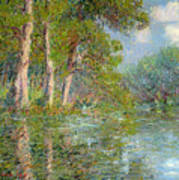 A Bend In The Eure Art Print
