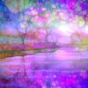A Bewitching Purple Morning Art Print