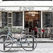 A Bicycle In Paris Art Print
