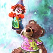 A Birthday Clown For Miki De Goodaboom Art Print