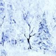A Blanket Of Snow Art Print