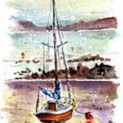 A Boat On Anglesey 01 Art Print