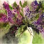 A Bouquet Of May-lilacs Art Print