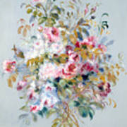 A Bouquet Of Roses Art Print