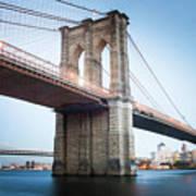New York Bridge Art Print
