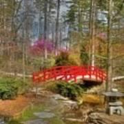 A Bridge To Spring Art Print
