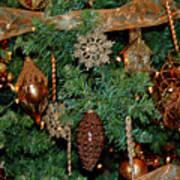 A Bronze Christmas Art Print