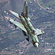 A Bulgarian Air Force Mig-21bis Armed Art Print