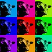 A Bunch Of Bull Art Print