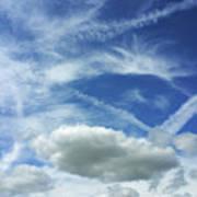A Busy Sky Art Print