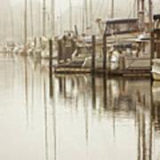 A Canal View Art Print