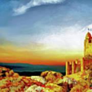A Castle In Spain Art Print