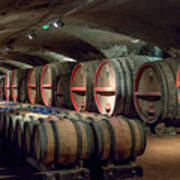 A Cellar Of Burgundy Art Print
