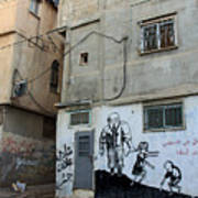 A Child In Palestine Art Print