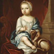 A Child Of The Pierpont Family Art Print