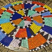 A Chip Off The Ole Mosaic Art Print