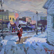 A Cold Afternoon In Tonawanda Art Print