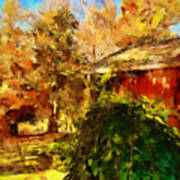 A Corner Of Autumn  Art Print