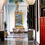 A Corridor In Keraton Sultan Palace Yogyakarta  Art Print