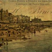 A Cote De La Mer Art Print