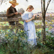 A Country Romance Art Print