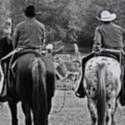 A Cowboys Life Art Print