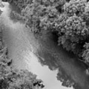 A Creek Runs Through It -- 2 Art Print