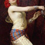 A Damascan Dancer Art Print