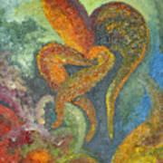 A Dancing Flower Art Print