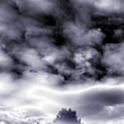 A Dark Heaven's Storm Art Print