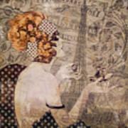 A Date With Paris II Art Print