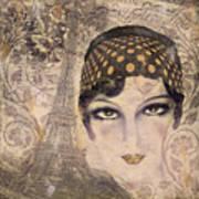 A Date With Paris Art Print