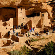 A Day At Mesa Verde Art Print