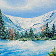A Day In Tuckerman's Art Print