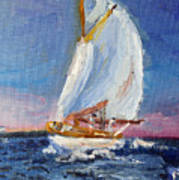 A Day On A Boat Is..... Art Print