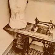 A Dressmakers Corner Art Print