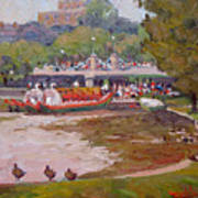 A Duck's View Art Print