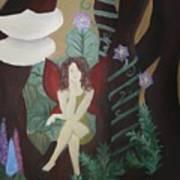 A Fairy's Sigh Art Print