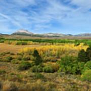 A Fall Day In The Sierras Art Print