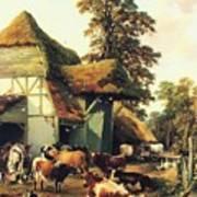 A Farm In Kent Art Print