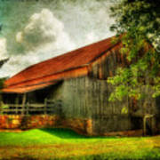 A Farm-picture Art Print
