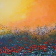 A Field In Bloom Art Print