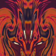 A Firebird Emerged From Your Equanimity 2015 Art Print by James Warren
