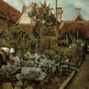 A Flemish Garden Art Print