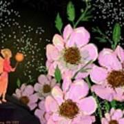 A Flower Fairy Art Print